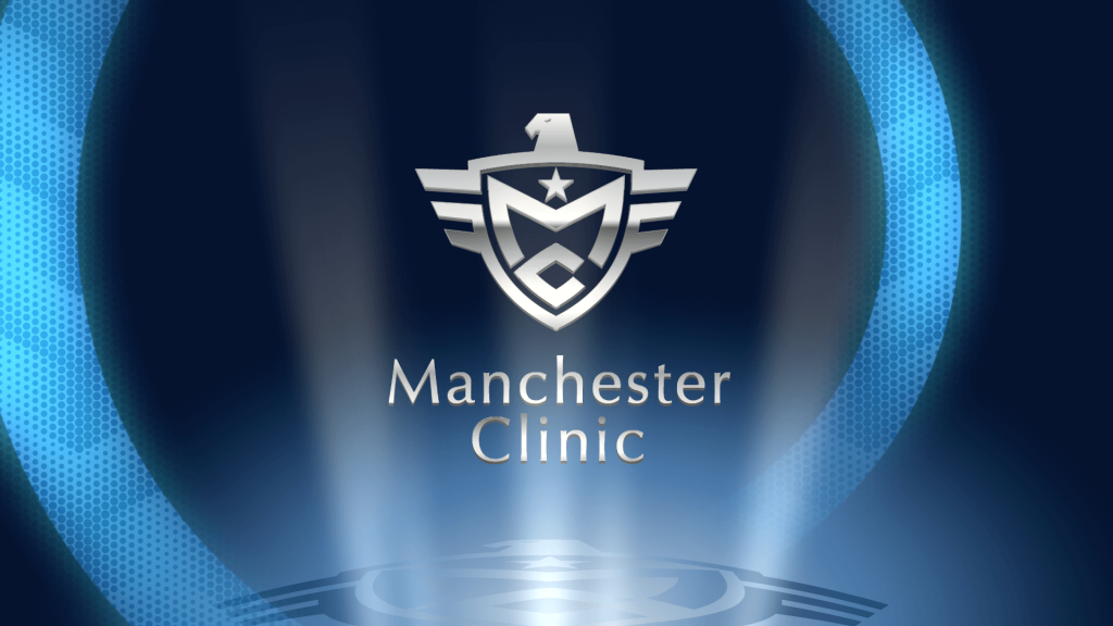 Manchester Clinic|motion logo